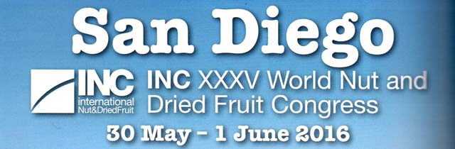 INC World Nut & Dried Fruit Congress 2016