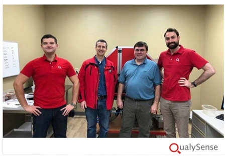 Qualysense staff